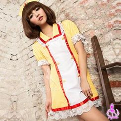 Ayoka - Nurse Party Costume Set