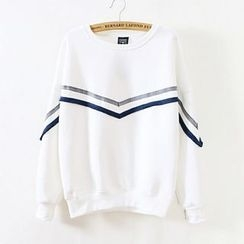 Maymaylu Dreams - Striped Pullover
