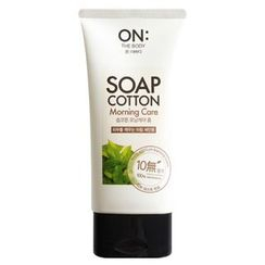 ON: THE BODY - Soap Cotton Morning Care Foam Cleanser 150ml