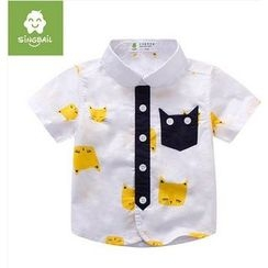 Endymion - Kids Animal Short-Sleeve Shirt