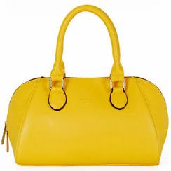 Heilin - Faux-Leather Boston Bag
