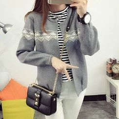 FR - Patterned Cardigan