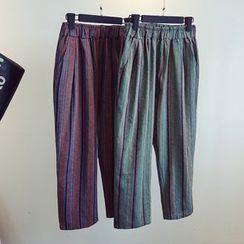 KASA - Striped Harem Pants