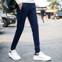 Chic Maison - Plain Sweatpants