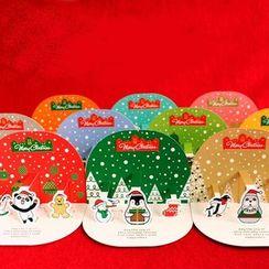 OH.LEELY - 十件套聖誕卡