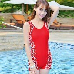 Rachel Swimwear - Printed Swimsuit