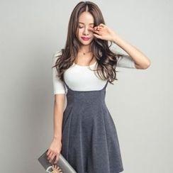 ERANZI - A-Line Jumper Skirt