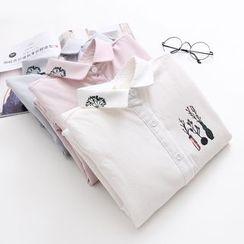 Vateddy - Print Shirt