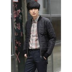 PLAYS - Quilted Zip-Up Jacket