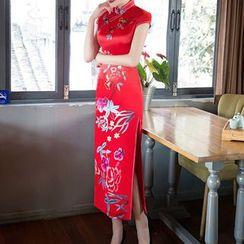 Bridal Workshop - 刺繡短袖旗袍