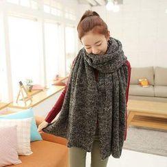 Cuteberry - 混色針織圍巾