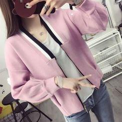 Emeline - Knit Zip Jacket