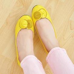 Nouvelle Footwear - Bow-Accent Flats