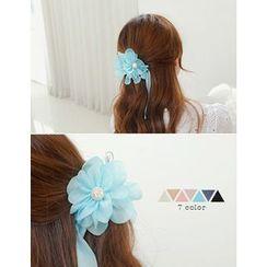 soo n soo - Floral Chiffon Hair Pin