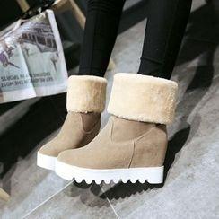 Pastel Pairs - Hidden Wedge Snow Boots