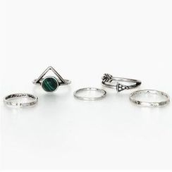 Ticoo - Set of 5: Ring
