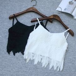 Oh My Love - Lace Camisole