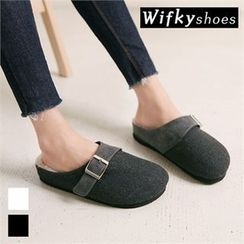 Wifky - Faux-Fur Lined Mules