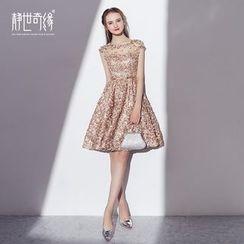 靜世奇緣 - 蕾絲邊禮服裙