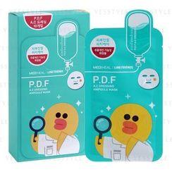Mediheal - P.D.F 控油去痘面膜 (Line Friends)