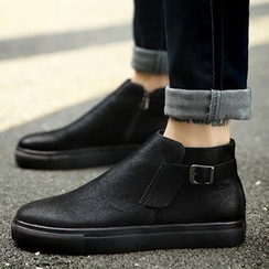NOVO - Buckled Ankle Boots