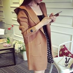Autunno - Hooded Long Cardigan