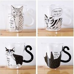 Good Living - Animal Print Glass Mug