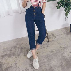Tokyo Fashion - Cropped Jumper Jeans