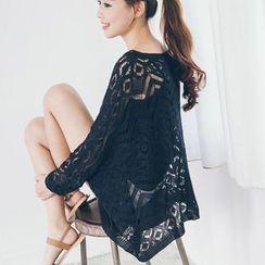 Tokyo Fashion - Open Knit Top