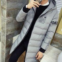 Bay Go Mall - Hooded Long Padded Coat