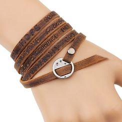 KINNO - Layered Leather Bracelet