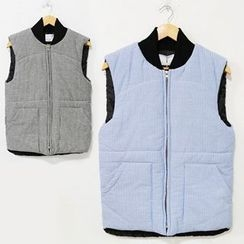 Mr. Cai - Striped Padded Vest