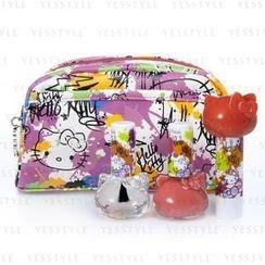 Hello Kitty - Hello Kitty Graffiti Cosmetic Bag Set A