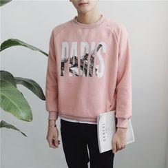 Arthur Look - Letter Sweatshirt