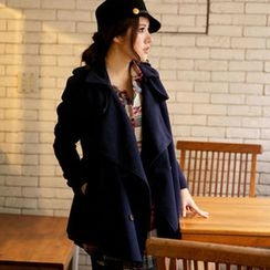 Tokyo Fashion - Belted Double-Breasted Trench Coat