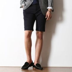 MODSLOOK - Flat-Front Dress Shorts