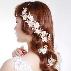 constello - 花朵发夹套装