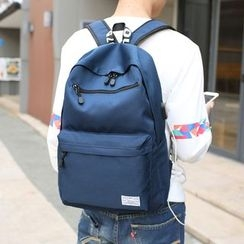 Seok - Printed Strap Backpack