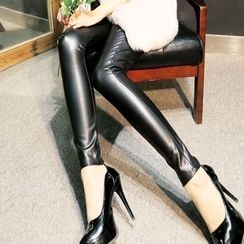 ONO - Faux Leather Leggings