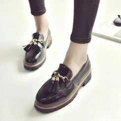 Charming Kicks - Tassel Loafers