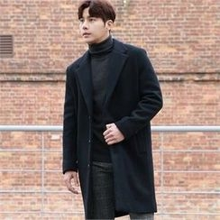 BYMONO - Notched-Lapel Wool Coat