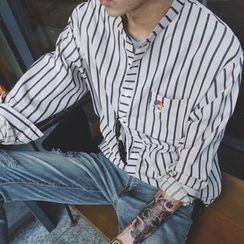 ZZP HOMME - Striped Shirt