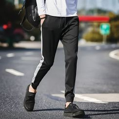 Alvicio - Colour Block Jogger Pants