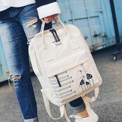 Youme - Giraffe Print Backpack