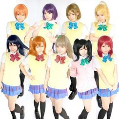 Ghost Cos Wigs - LoveLive! Uniform Cosplay Costume