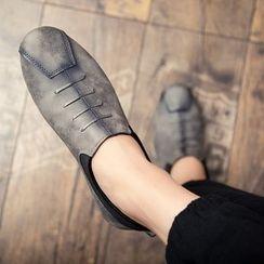 HANO - 絲絨牛津鞋