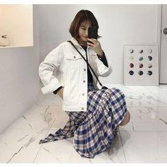 Miamasvin - Pocket-Side Denim Jacket