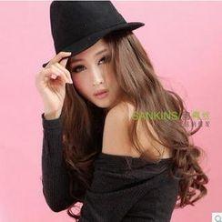 尚青絲 - 長捲半假髮