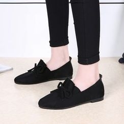 Tina Nini - Frill Trim Pointed Loafers