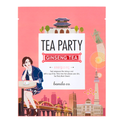banila co. - Tea Party Mask Sheet (Ginseng Tea)